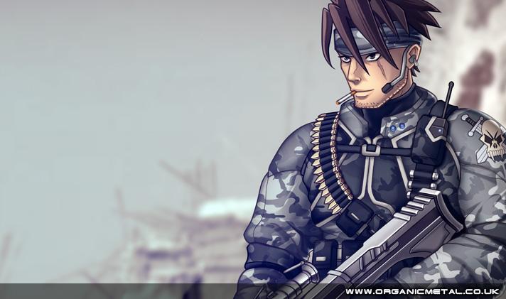 Military manga guy
