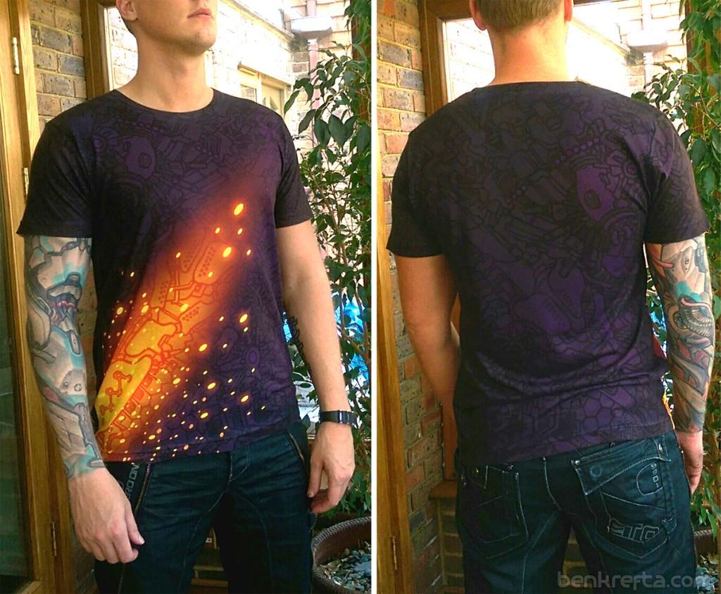 Tshirt doodle photo1