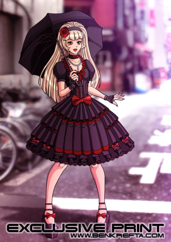 Gothic Lolita Print