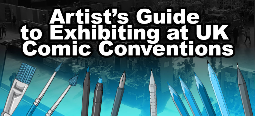 Artists Table at Comic Con