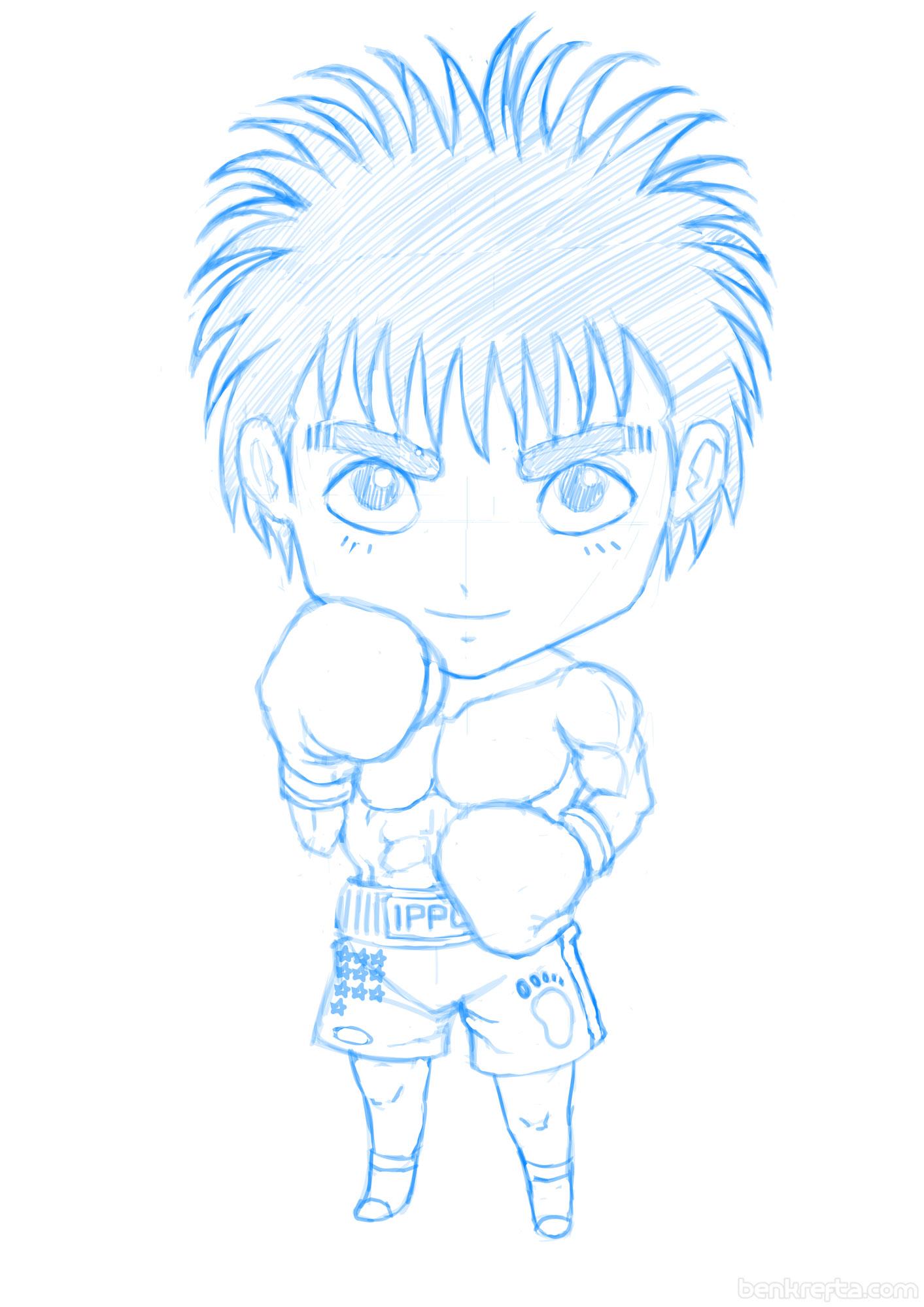 Ippo chibi sketch