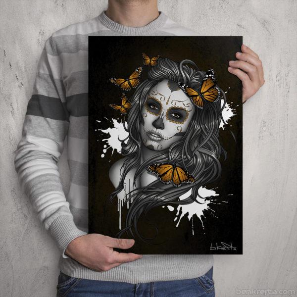 SugarskullGirl Print