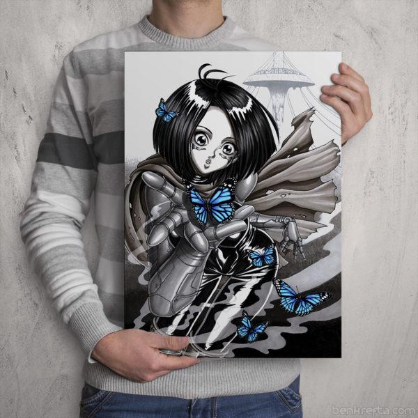 Alita Print