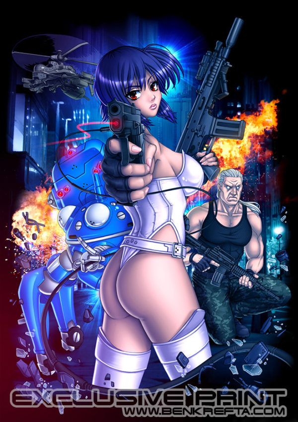 Ghost in the Shell Print