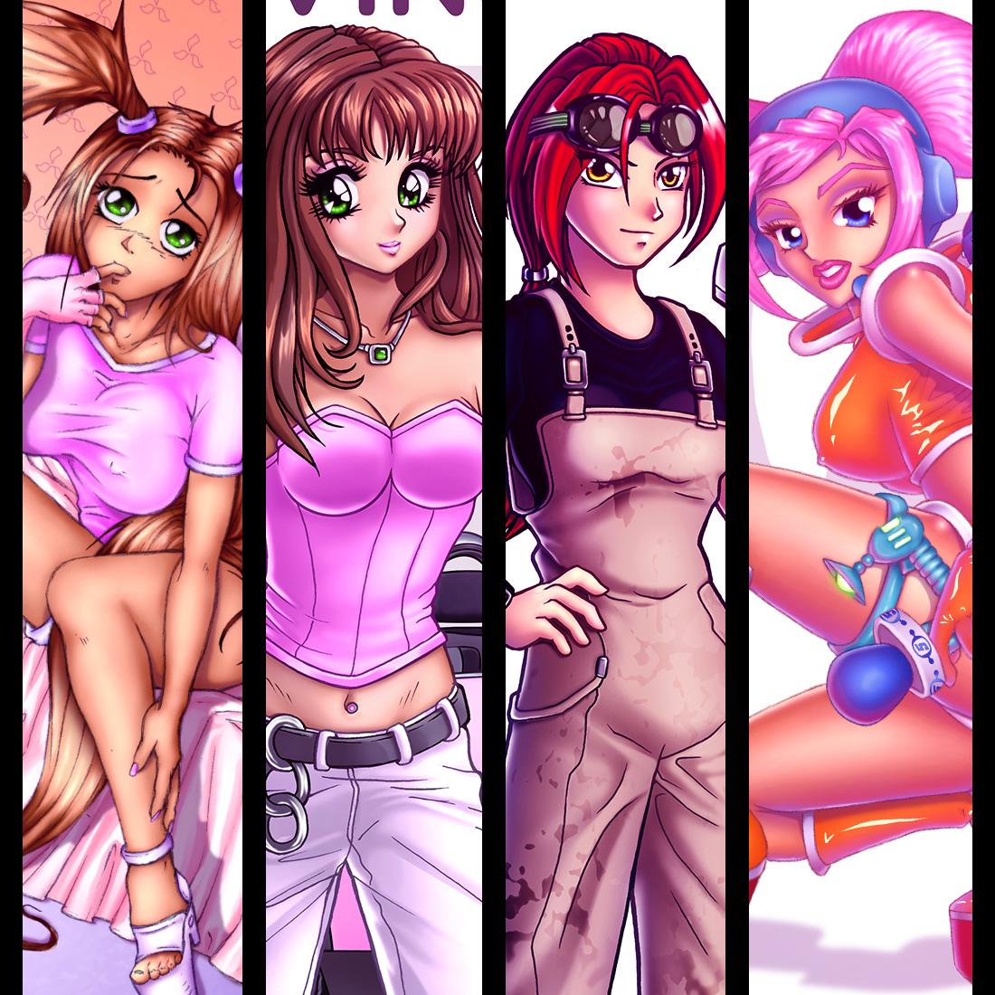Anime Girls Art