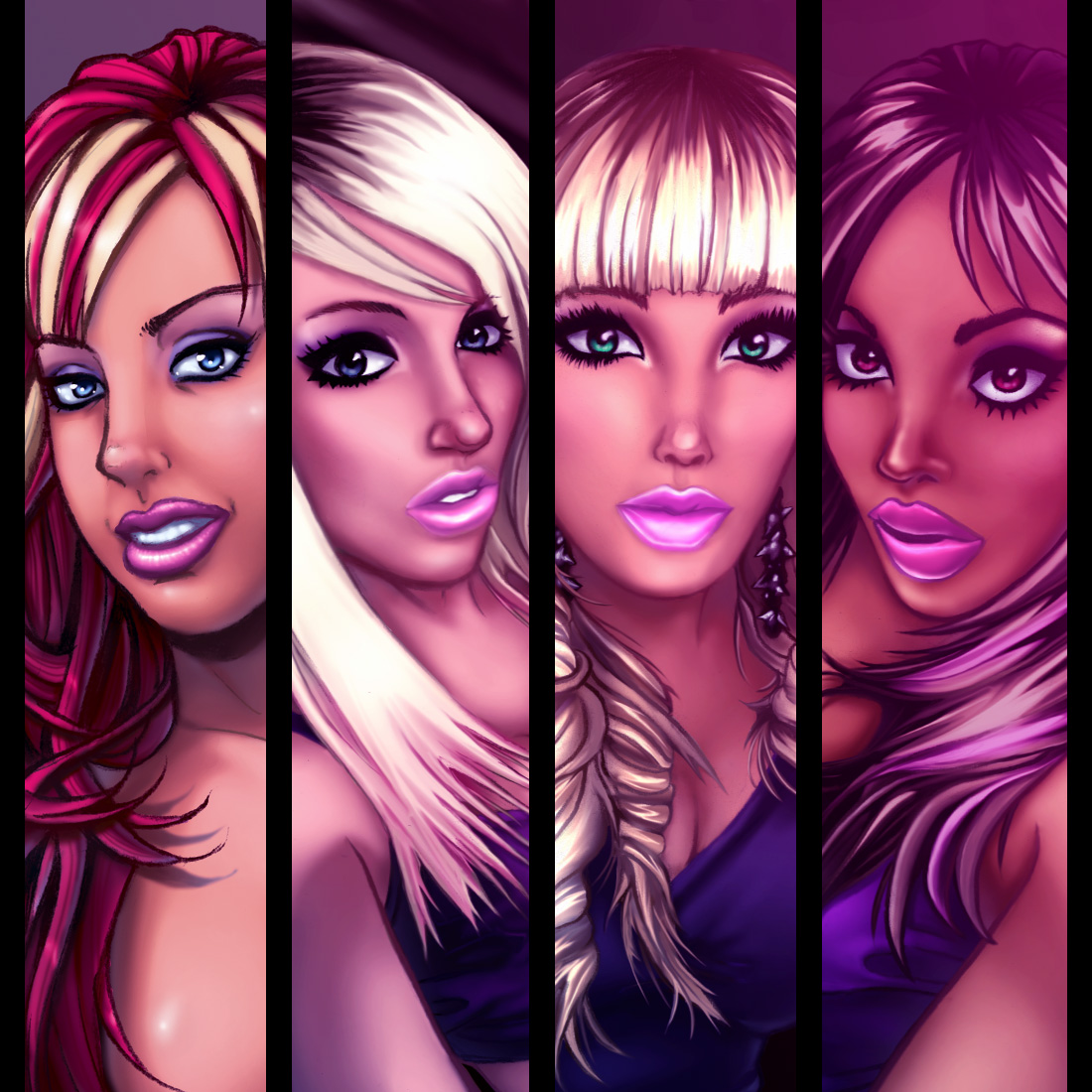 Pretty Girls Art