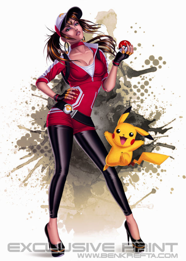 Pokemon Go Print