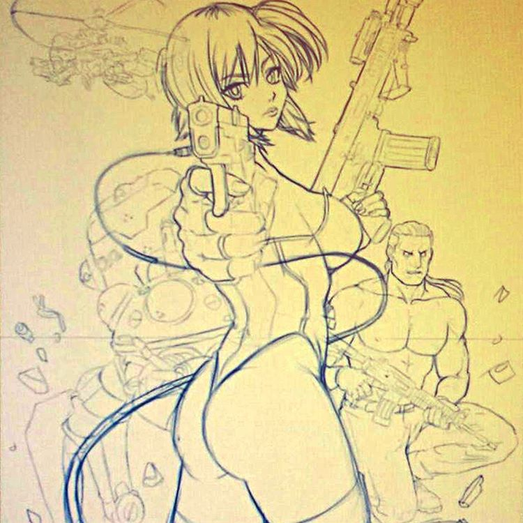 Ghost in the Shell WIP1