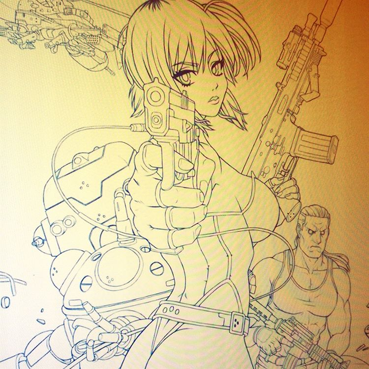 Ghost in the Shell WIP2