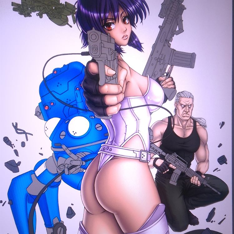 Ghost in the Shell WIP4