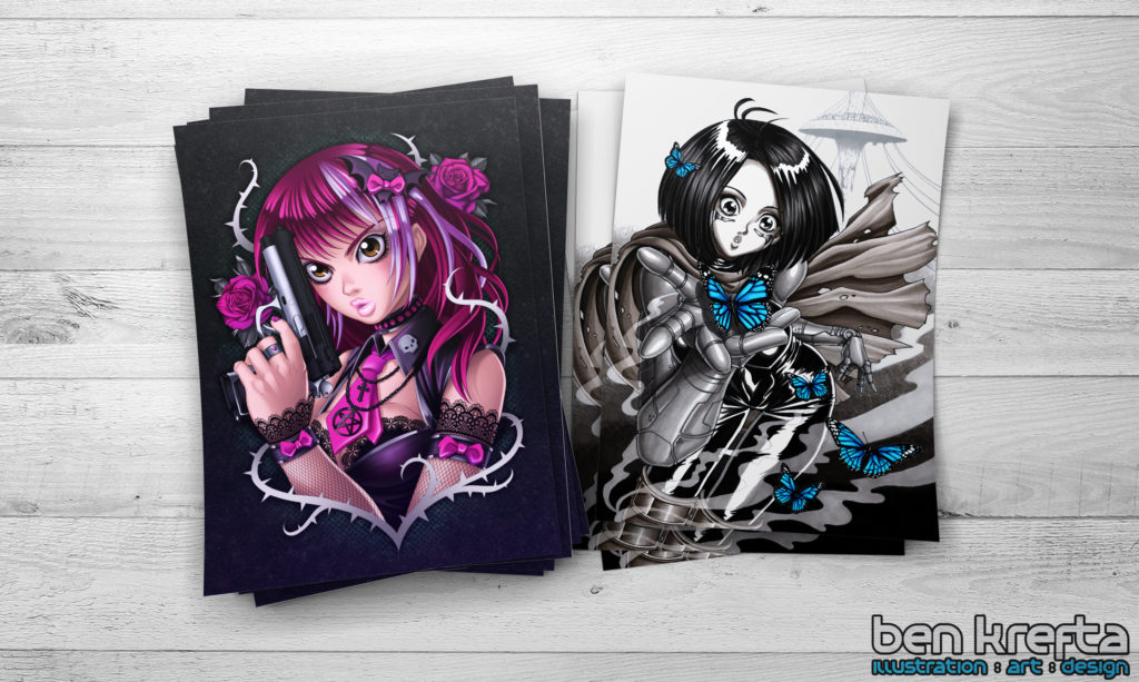 manga art prints