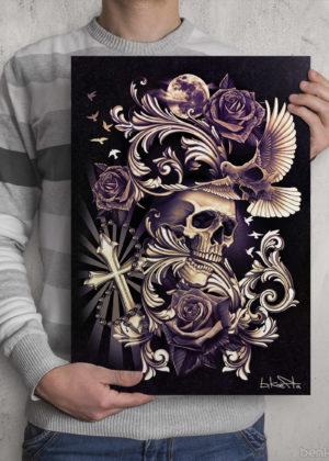 Skull Dove Design