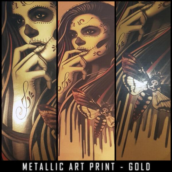 METALLIC SugarMoth Gold