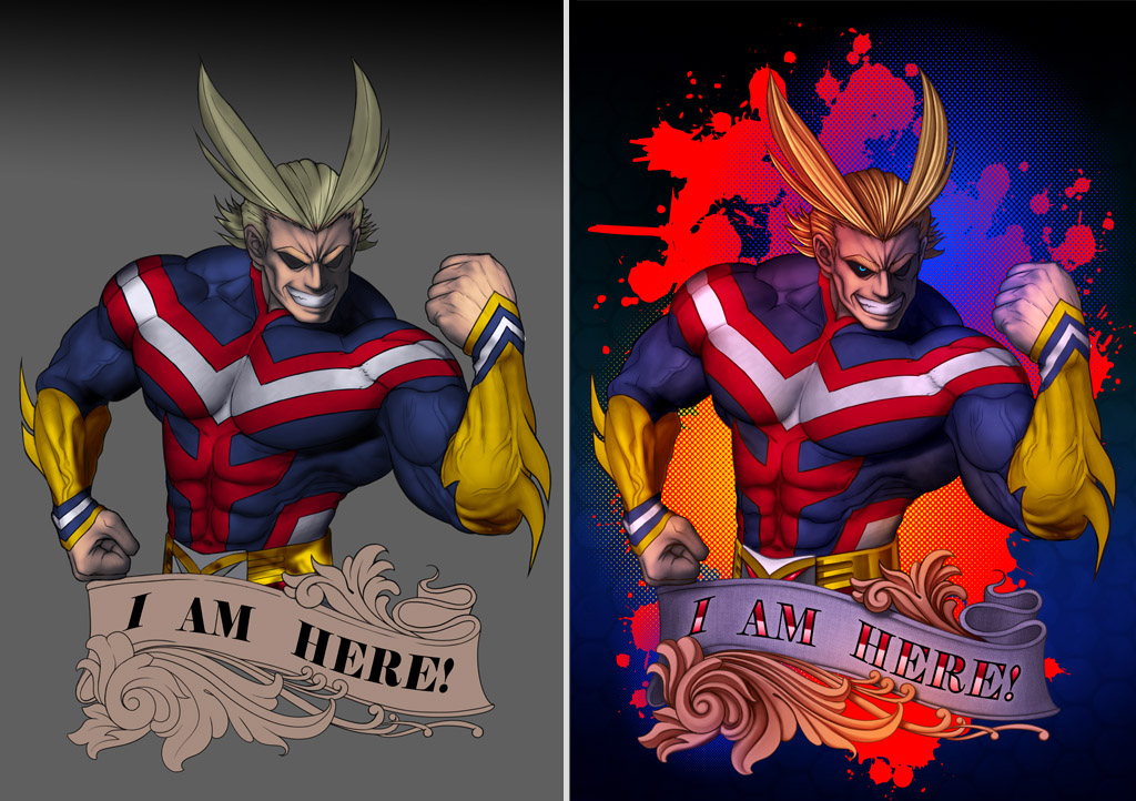 all might colours