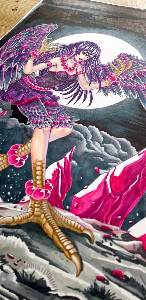 Harpy art 2