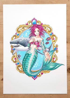 mermaid art 1