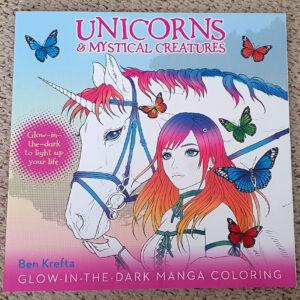 Unicorns Coloring Book Cover