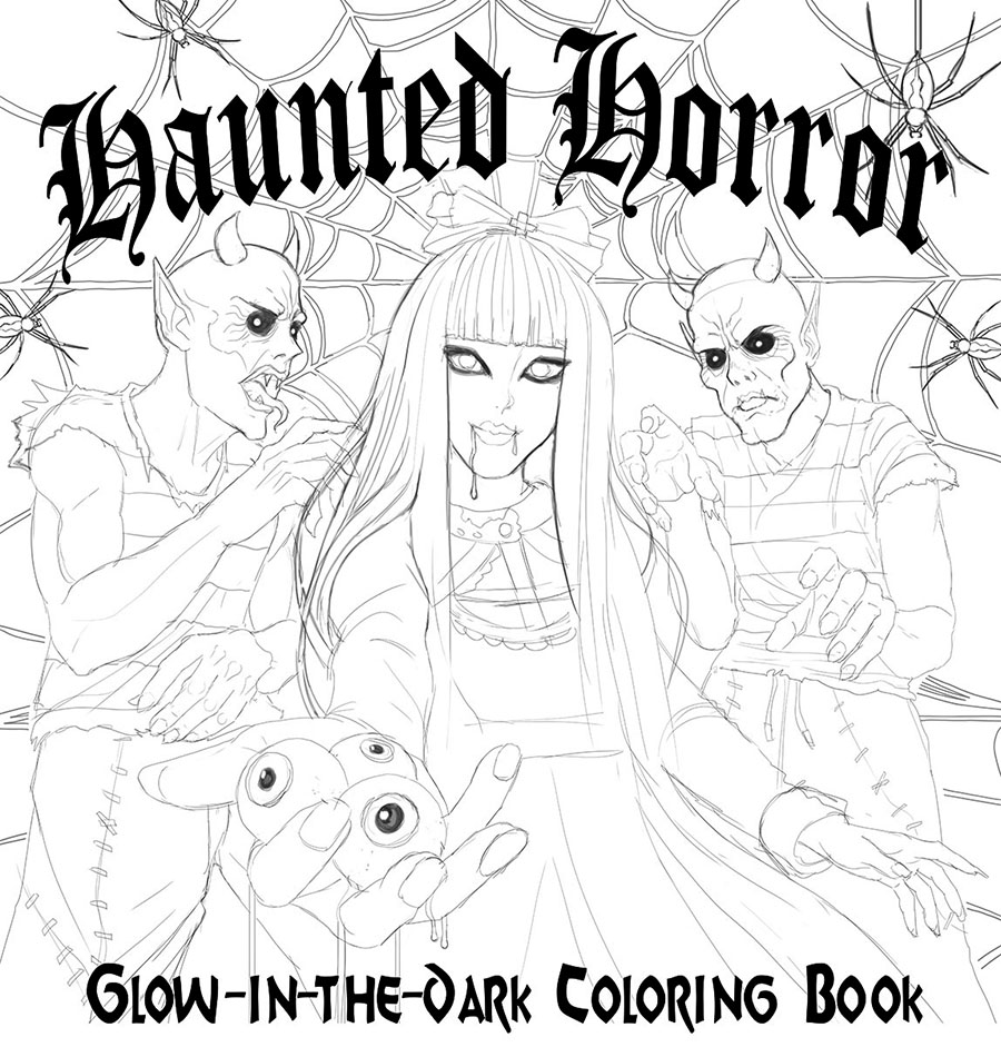 Horror Cover sketch 1