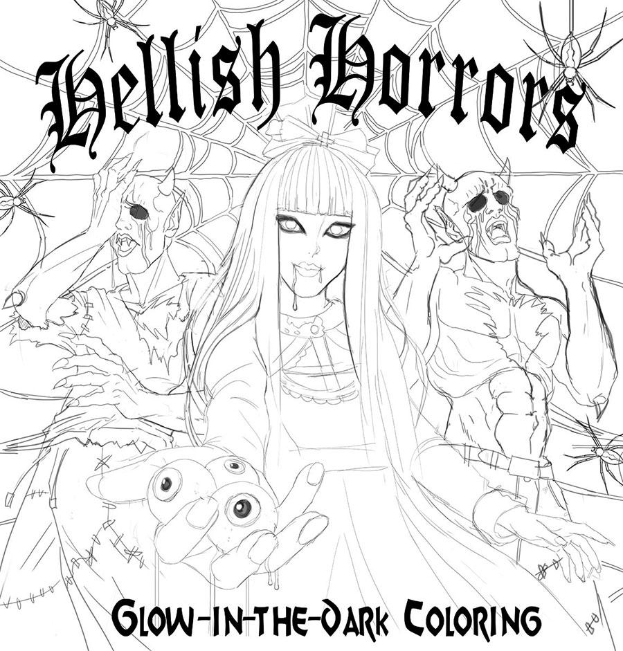 Horror Cover Sketch 2
