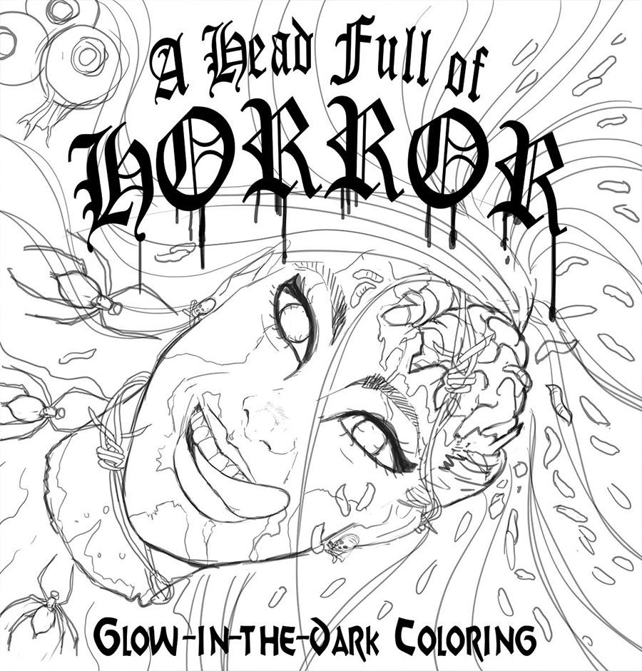 Horror Cover Sketch 3