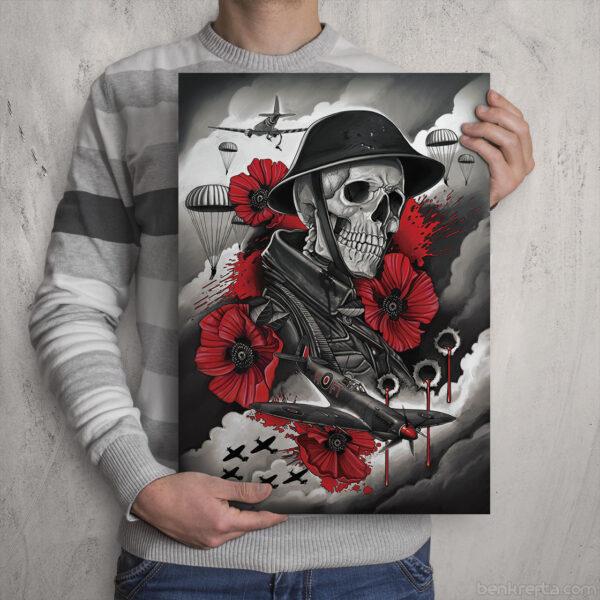 World War 2 Skull Soldier