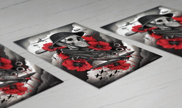 World War 2 Memorial Prints